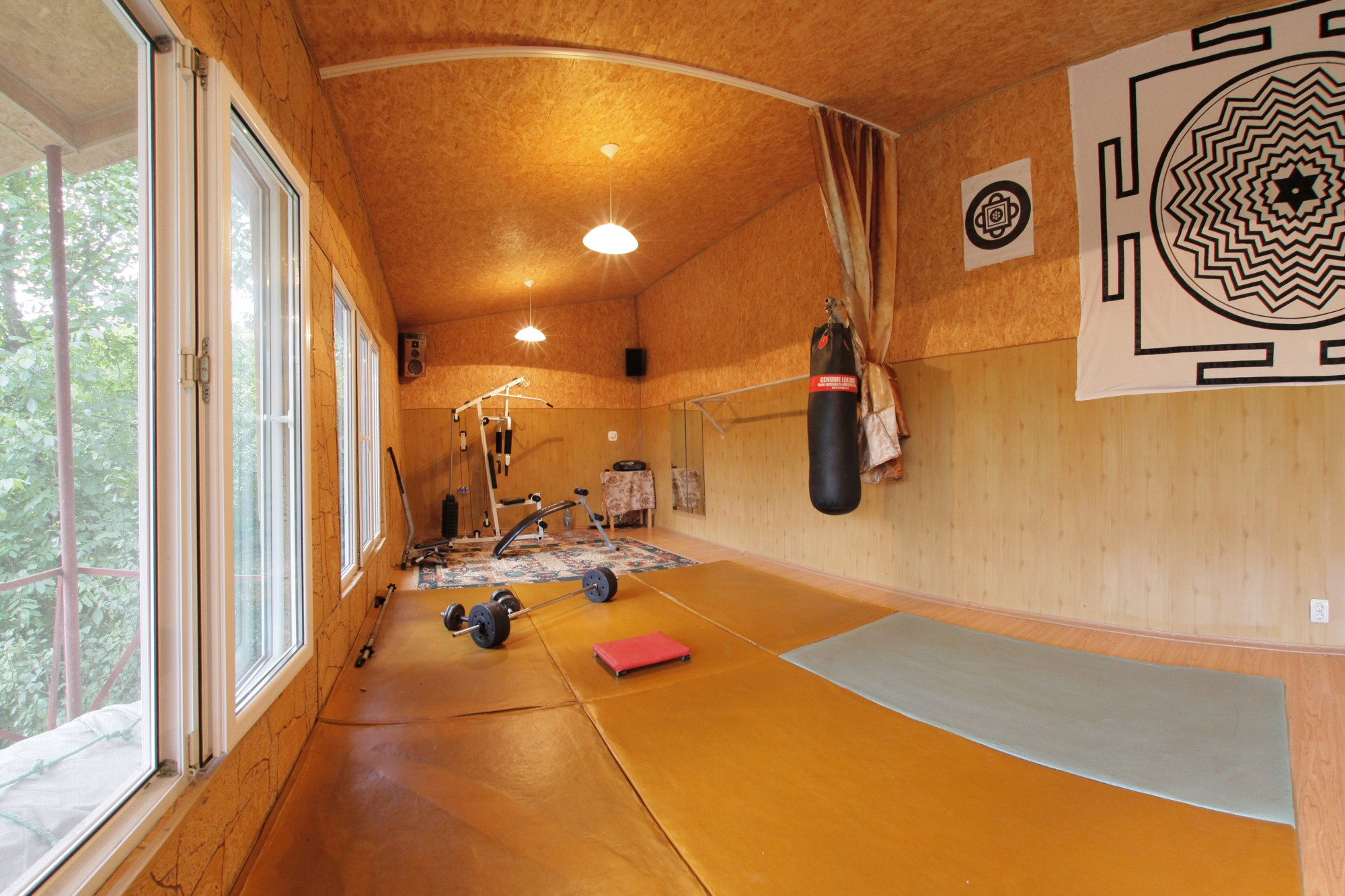 Sala fitness Pensiunea Tara
